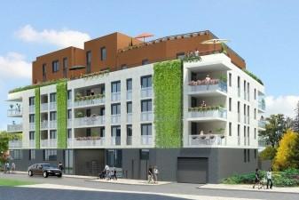 Appartement cologique lyon d but du chantier du premier immeuble passif de marignan - Immeuble ecologique ...