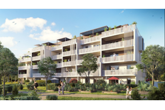 174 logements neufs à énergie positive dans l'écoquartier du Séqué à Bayonne