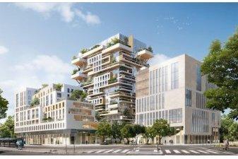 Hypérion à Bordeaux en chantier, plus haute tour résidentielle en bois de France