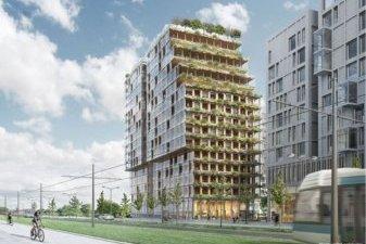 Du logement neuf en bois en plein Paris