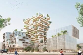 22 villes retenues pour construire des tours de logements neufs en bois