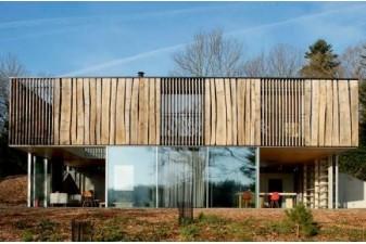 Ecohabitat les plus belles maisons bois de l 39 ann e for Architecture ecologique