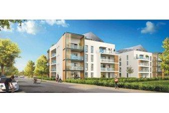 50 logements neufs en chantier dans un écoquartier près de Vannes