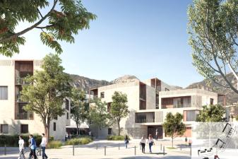 Ecoquartier Chagall : 200 logements neufs au cœur de Vence