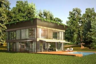 ecohabitat la maison cologique de philippe starck lanc e. Black Bedroom Furniture Sets. Home Design Ideas