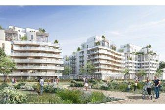 Le chantier de 740 logements neufs écologiques est symboliquement lancé dans l'écoquartier de l'Arsenal à Rueil-Malmaison. | Carré de l'Arsenal / Rueil-Malmaison / Vinci Immobilier et Emerige