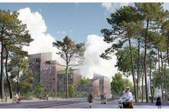 immeuble logement neuf bois Angers