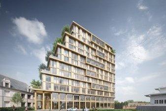 Ecohabitat : un premier immeuble neuf en bois sur EuroRennes